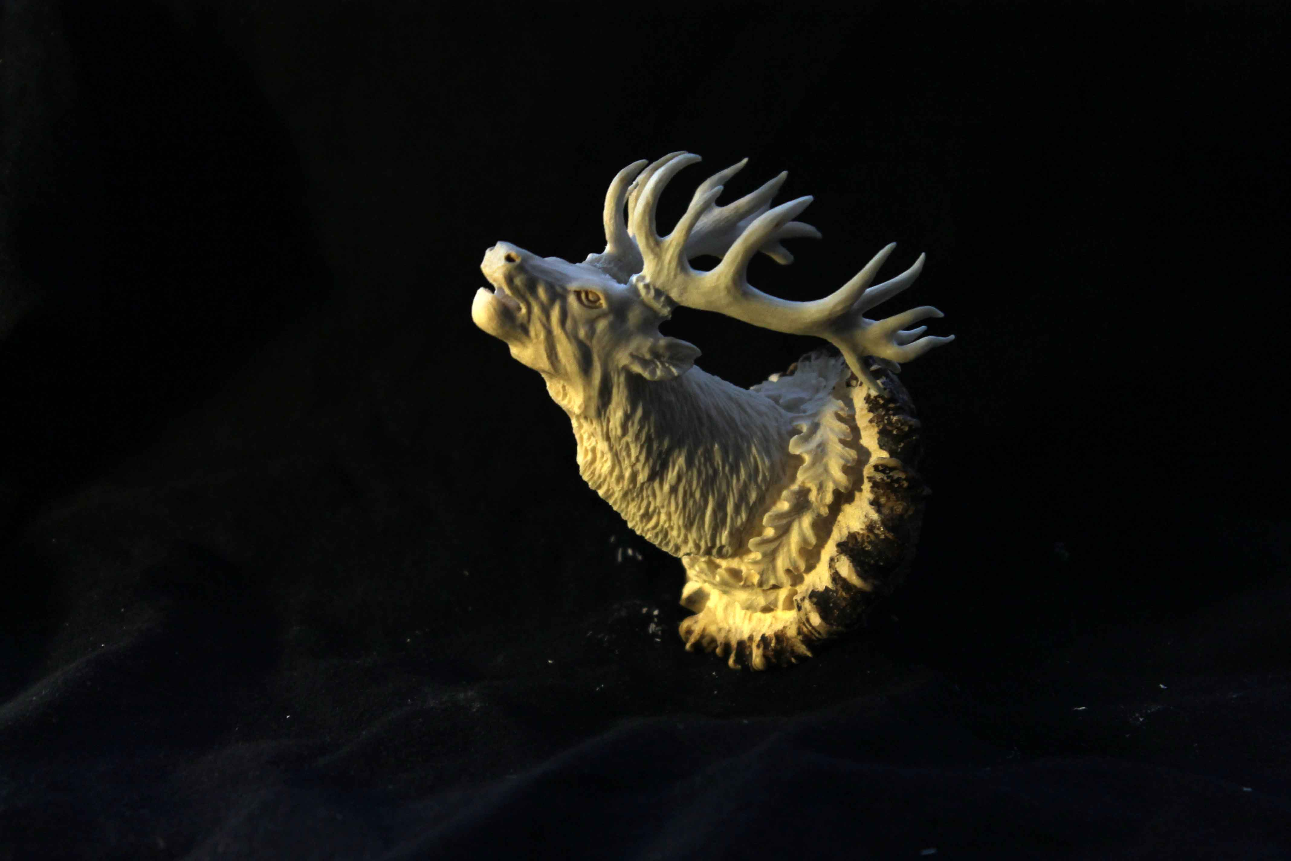 Deer Antler Sculpture