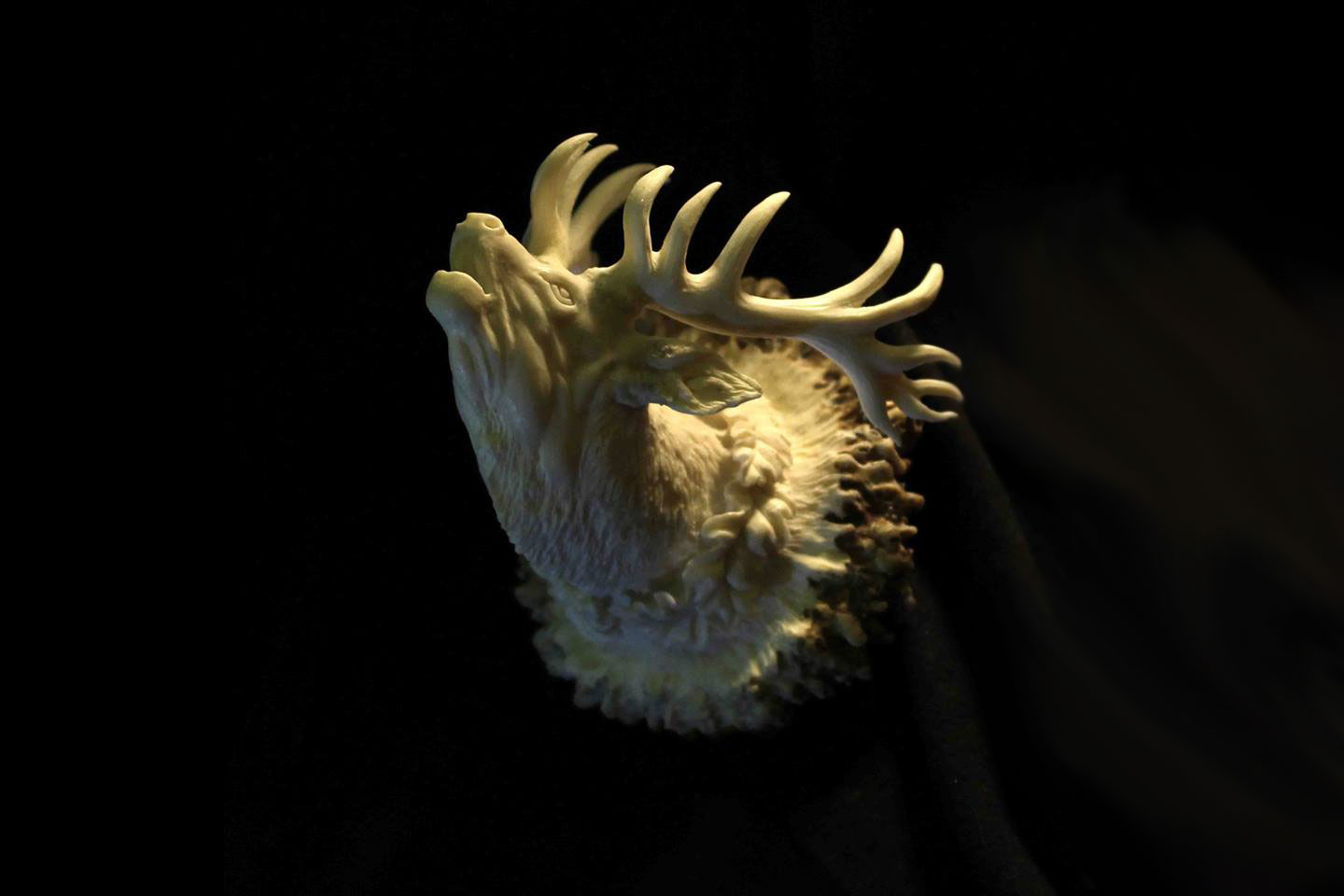 New Deer Antler Sculpture
