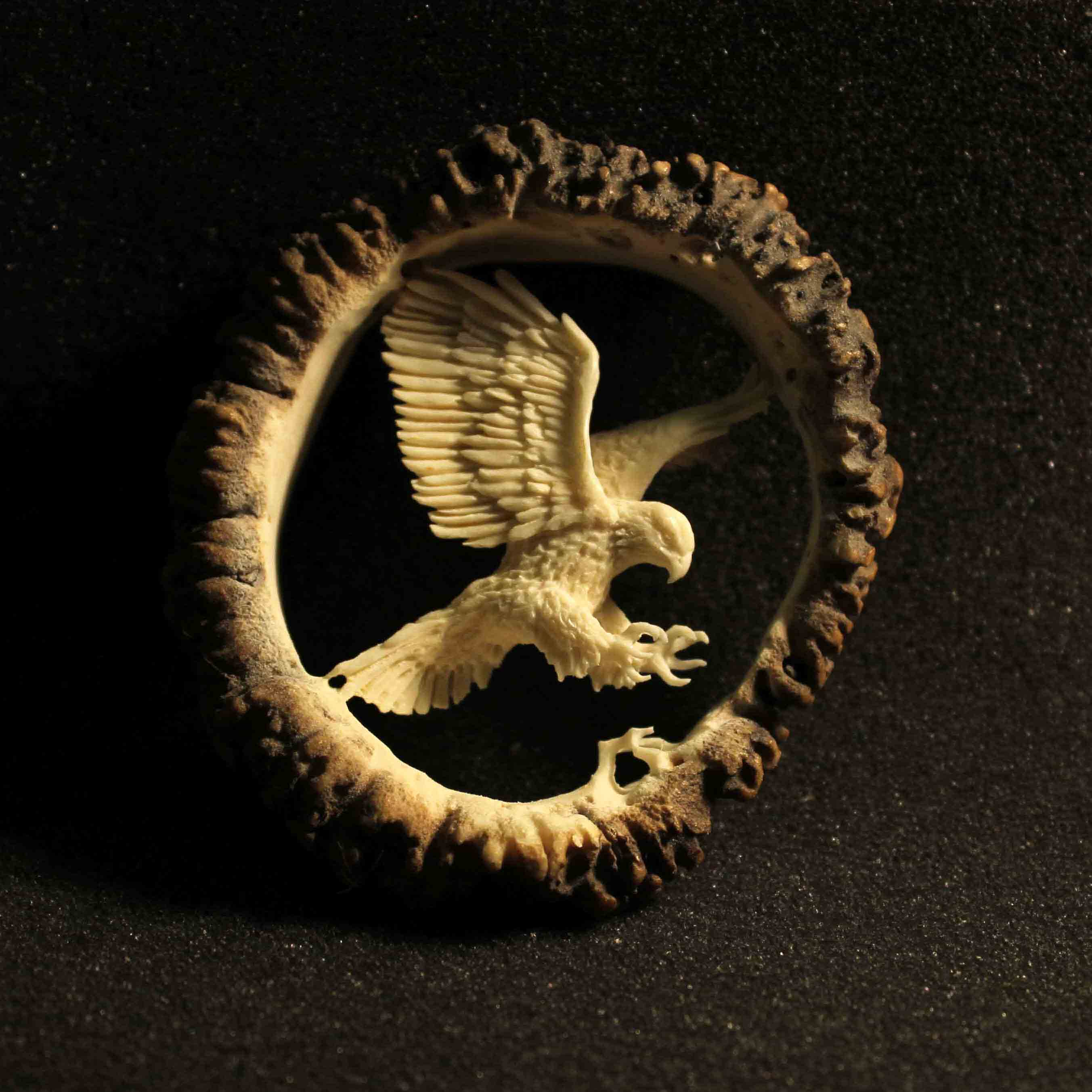 Eagle Antler Sculpture